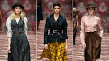 Berlin Fashion Week: Lena Hoschek wühlt ungeniert im Herren-Kleiderschrank