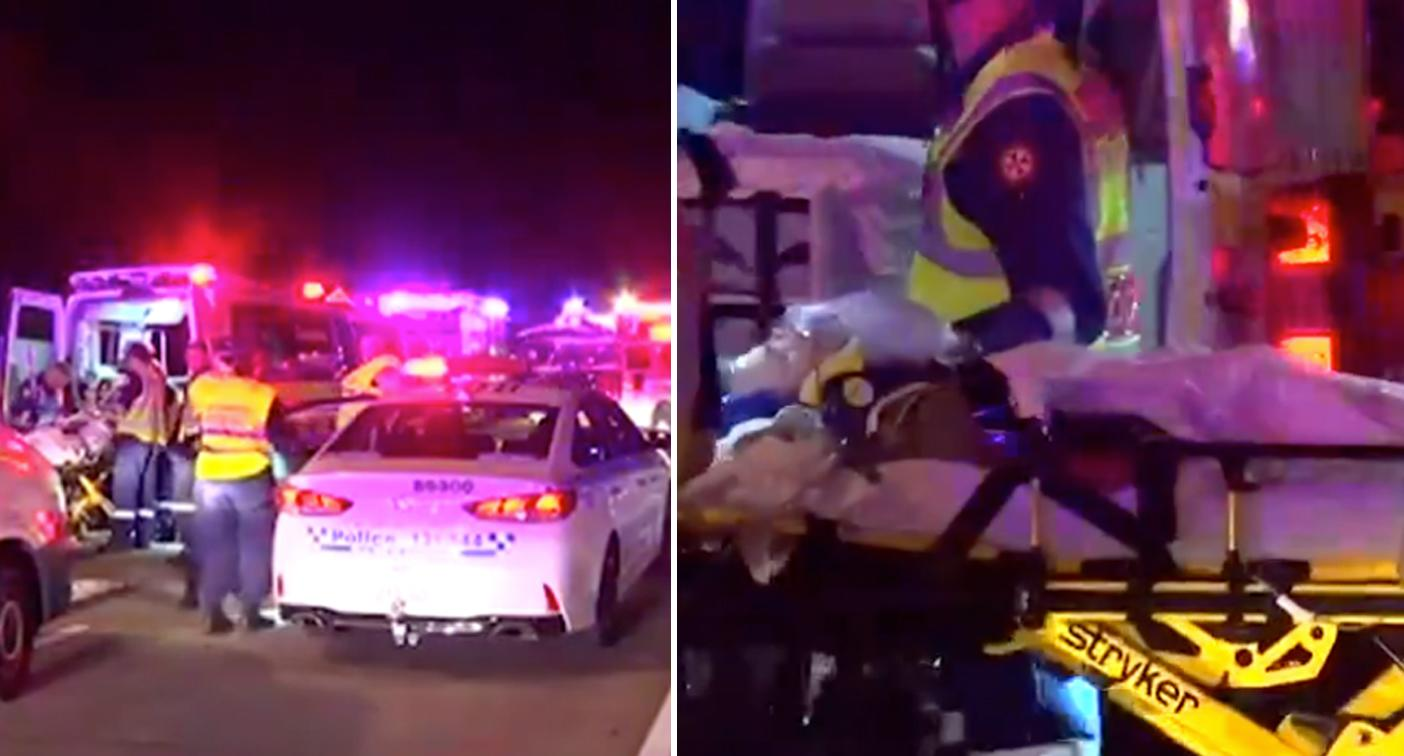 Bmw Hit Car Moments Before Fatal Horror Crash Just
