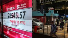 Hong Kong stocks fall deeper into bear territory amid trade war uncertainty