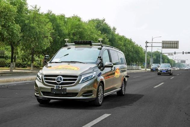 Mercedes-Benz will test self-driving cars on public roads in Beijing