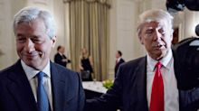 Dimon, other CEOs talk jobs and economic growth at private White House dinner with Trump