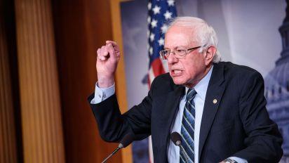 Bernie Sanders slams 'the Trump tax scam'