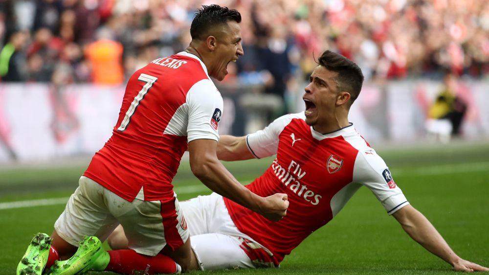 Arsenal-Manchester City, Alexis Sanchez s'illustre encore à Wembley