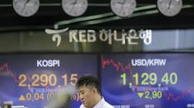 Global stocks drift lower as investors await news on trade