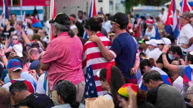 small flotilla heads to International Waters to show support for Cuban people