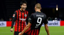 Japan's Kamada guides Eintracht to Hertha win