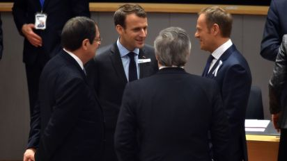 EU leaders confirm Brexit transition offer, joint trade line