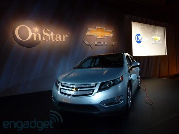 OnStar and Chevy show off Android, BlackBerry, and iPhone control apps for Volt