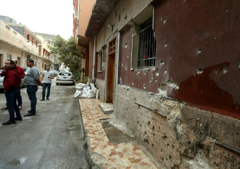 Tripoli's Batata neighbourhood has been hit by the latest violence despite UN calls for a ceasefire (AFP Photo/Mahmud TURKIA)
