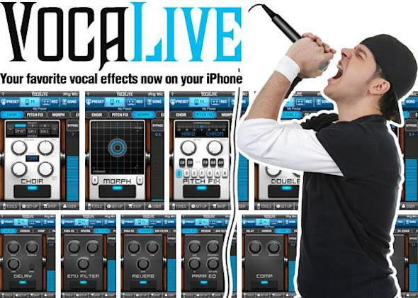 VocaLive, iRig Mic, iPhone conspire to create vocal talent where none exists