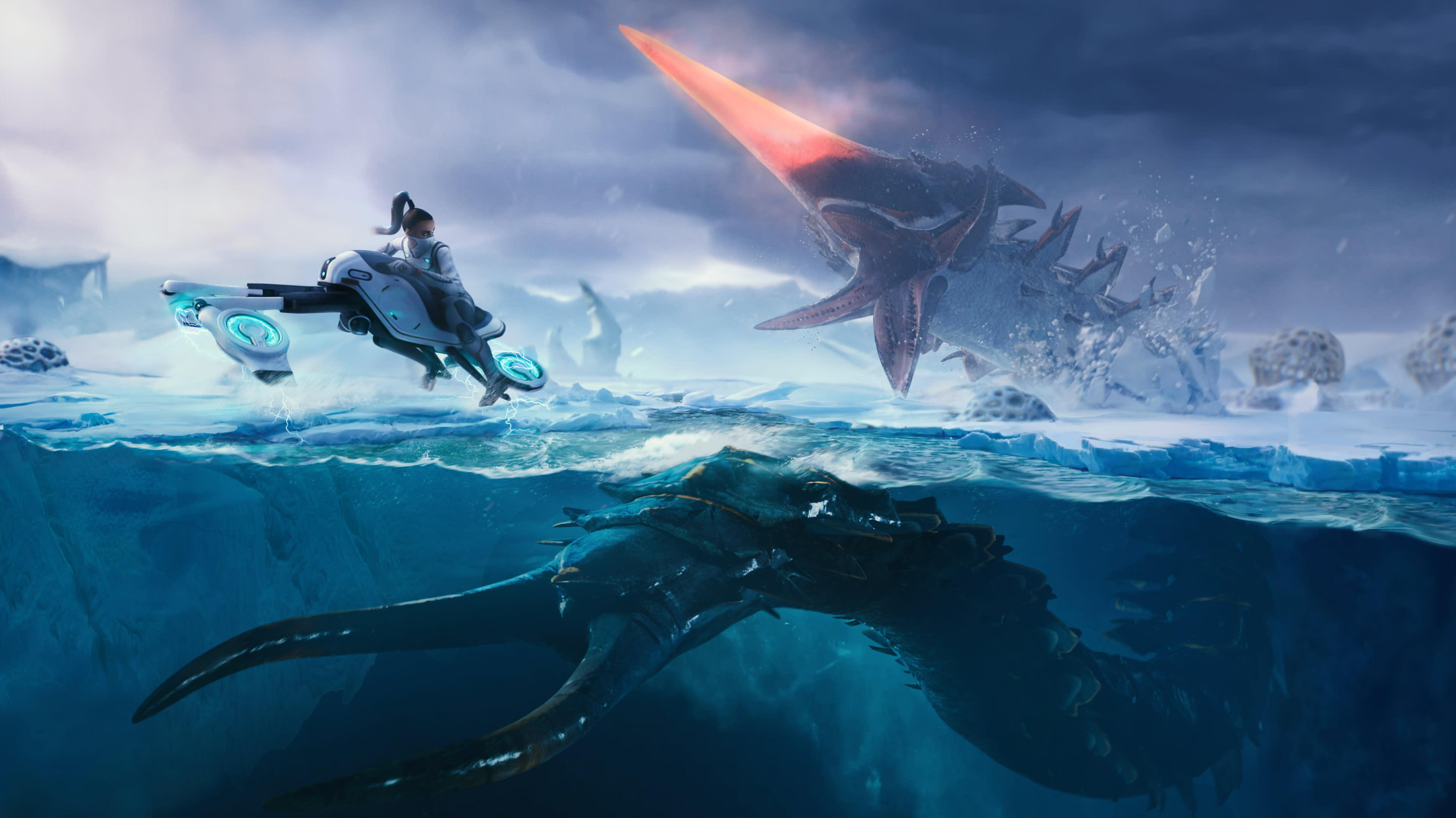 'Subnautica: Below Zero' will get a full release in May | Engadget