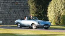 All-electric 1968 Jaguar E-Type Zero was our hero at the Royal Wedding