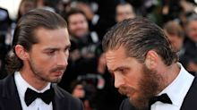 Shia LaBeouf says he wrestled naked with Tom Hardy but 'did not knock him out'
