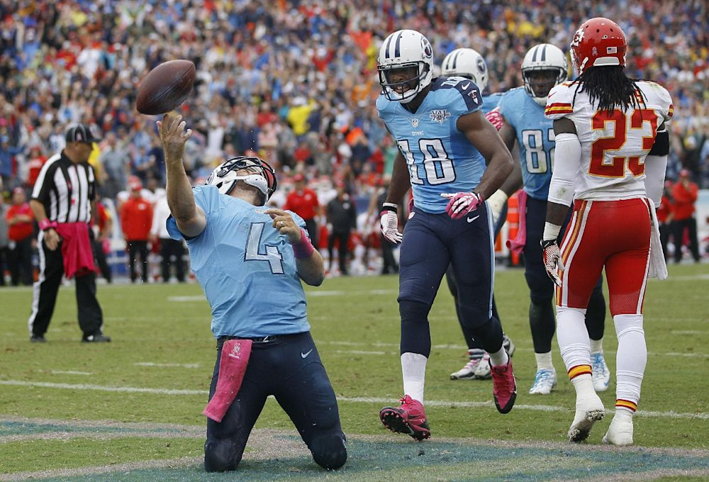 Titans trying to give WR Britt confidence boost
