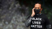 Hamilton disappointed with past champions' comments on racism