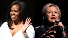 Michelle Obama displaces Hillary Clinton as 'most admired' woman
