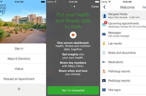 Mayo Clinic rebrands app, adds HealthKit functionality to give patients more control