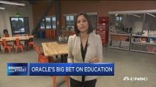 Oracle bets big on education