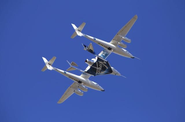 Virgin Galactic sends its first passenger to the edge of space