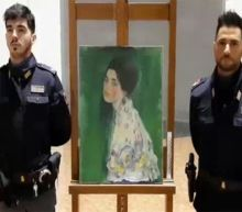 Painting found in Italian museum wall is stolen Klimt