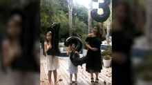 We Found It: Jessica Alba's Off-the-Shoulder Pregnancy Announcement Dress - and Three Affordable Alternatives