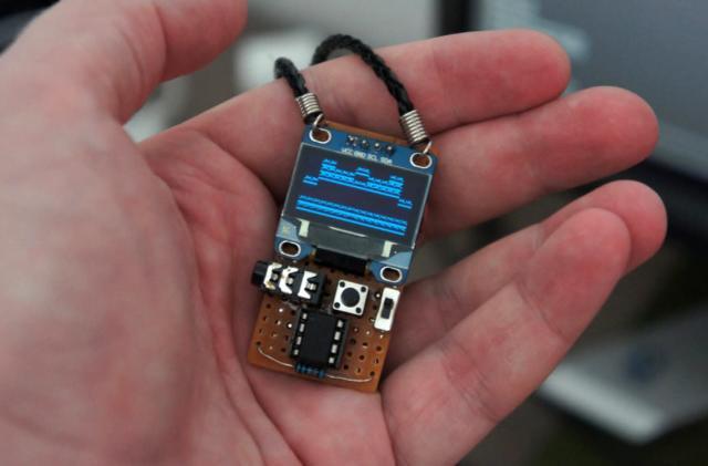Quantum VJ puts a glitchy audio visualizer around your neck