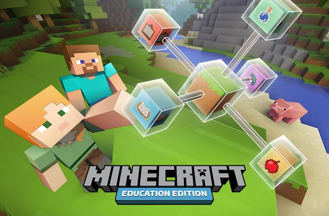 'Minecraft: Education Edition' is available on Chromebooks