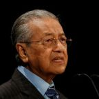 Malaysia's Mahathir says Russia being made a scapegoat for downing of MH17