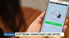 SoftBank, Naver Hike Line Offer