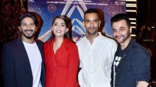Pics: Indian cricketers at a special screening of 'The Zoya Factor'