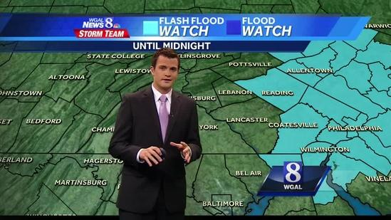Showers could linger into evening