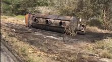 Acidente com caminhão tanque deixa mortos na Colômbia