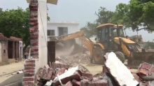 Chandrababu Naidu Cries Foul After Portion of TDP Leader's House Demolished over Alleged Encroachment