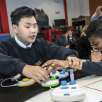 Microsoft's Code Jumper makes programming physical for children with visual impairments