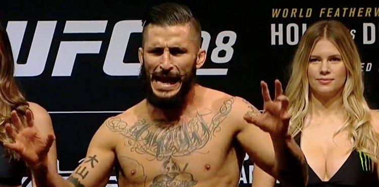 Ian McCall Pulled, UFC 208 Bou...