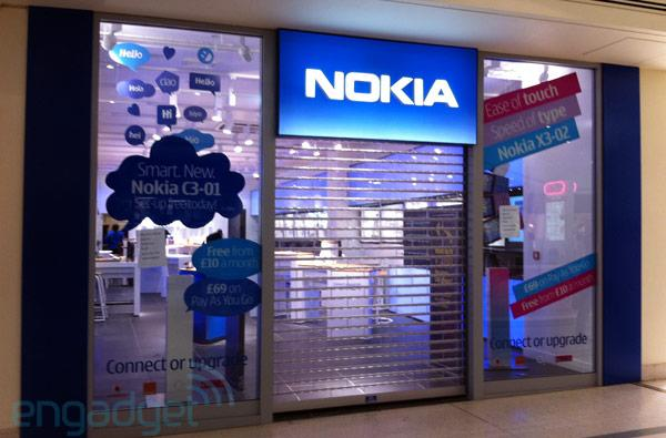 Nokia shutters online and retail stores in UK, US web store