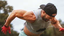 Julian Edelman Wore a Crop Top to Show Off His Shredded Abs in New Training Photos With Cam Newton