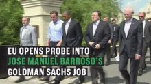 Goldman Sachs executive Jose Manuel Barroso, a former top EU chief, in row over Brussels lobbying