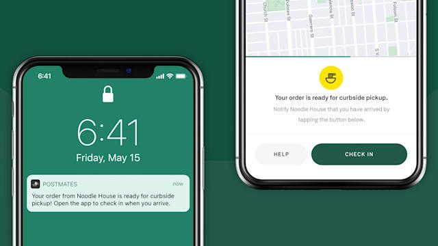 Postmates makes curbside pickup easier for stores