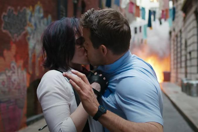 'Free Guy' movie trailer shows a kiss