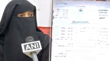 Hyderabad Muslim Lady Receives Triple Talaq On WhatsApp