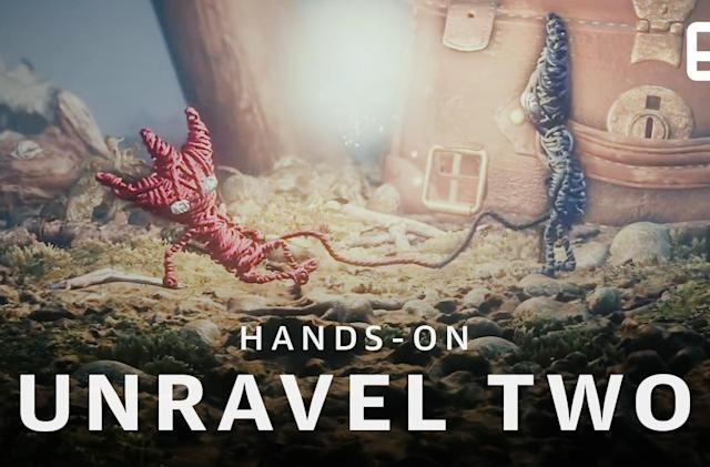 Hands-on with 'Unravel Two,' a co-op game with double the adorable