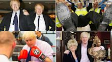 Boris Johnson in pictures: The life and times of Britain's new prime minister