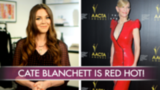 Cate Blanchett Is a Femme Fatale in Red Sequins