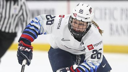 Blackhawks add decorated Olympian Coyne to staff