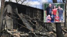 'My kids, my kids': Firefighters hold back mum as four sons perish in house fire