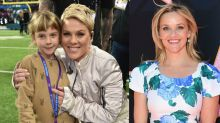 Pink Opens Up to Reese Witherspoon About Going on Tour With Kids -- Watch