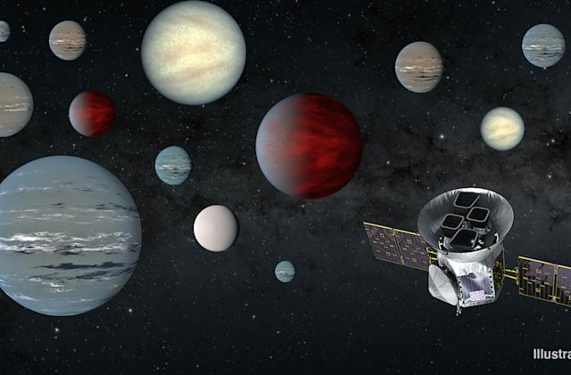 NASA's TESS spacecraft has already found 2,200 possible planets