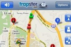 Speed trap checker Trapster for iPhone updated to 4.0
