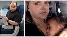 'I almost started crying myself': Mum's open letter to passenger 'annoyed' by toddler on flight